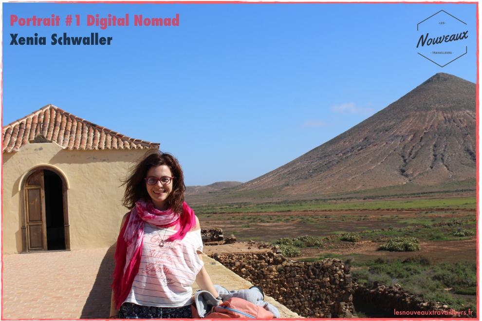 Portrait Digital Nomad #1 : Xenia Schwaller
