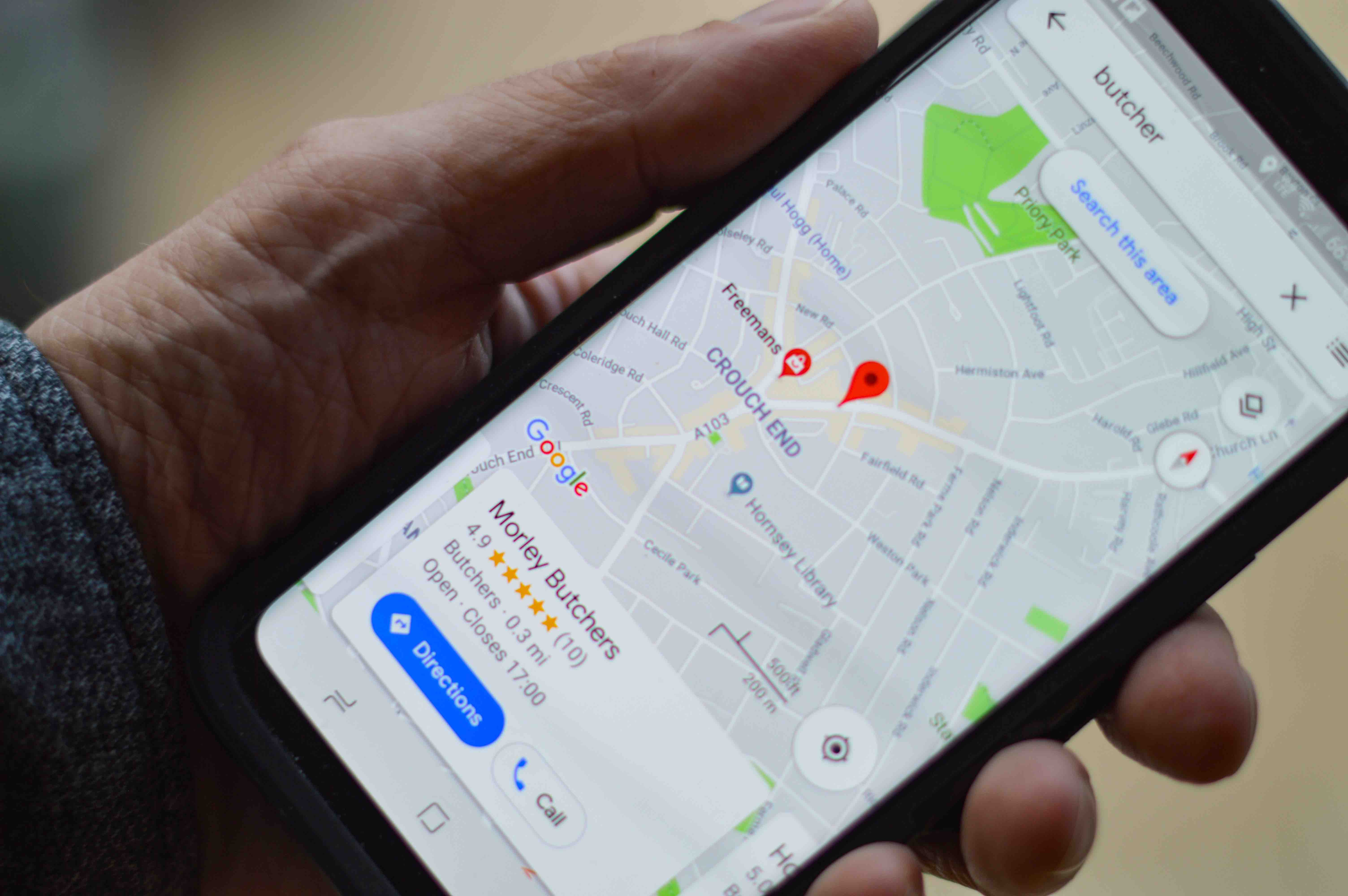 Téléphone Google Maps En Voyage